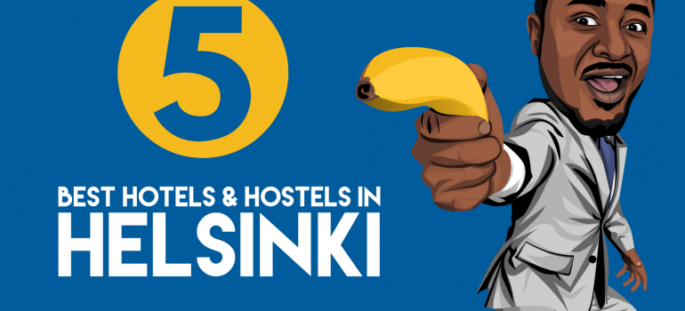 5 best hotels and hostels in helsinki